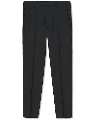 Tiger of Sweden Thodd Wool Travel Structure Trousers Blazer Black