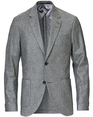 Tiger of Sweden Jamot Wool Check Blazer Grey