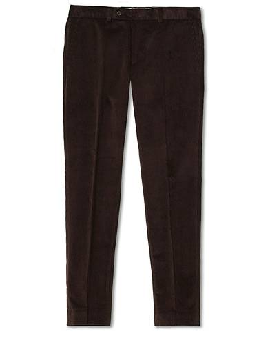 Morris Rodney Corduroy Trousers Brown