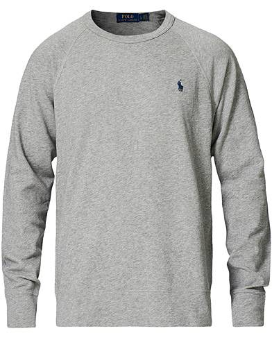 Polo Ralph Lauren Crew Neck Sweatshirt Light Grey Heather