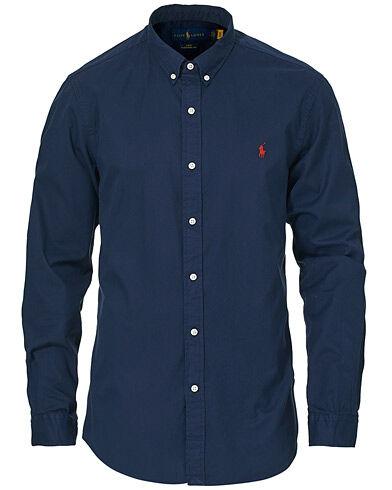 Polo Ralph Lauren Slim Fit Twill Button Down Shirt Cruise Navy