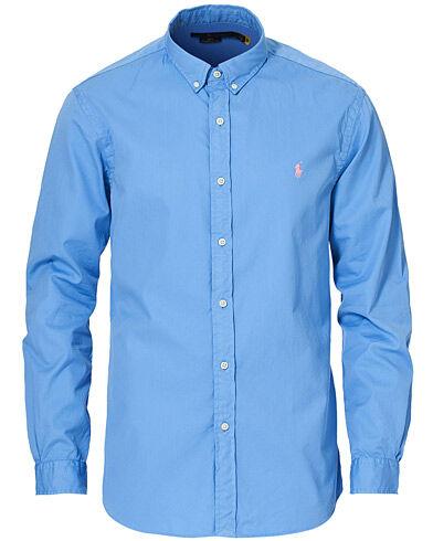 Polo Ralph Lauren Slim Fit Twill Button Down Shirt Cabana Blue