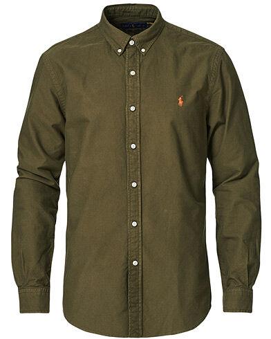 Polo Ralph Lauren Slim Fit Oxford Button Down Shirt Defender Green