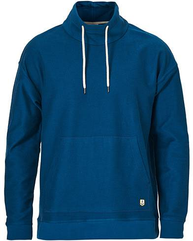 Armor-lux Patterson Hoodie Blue