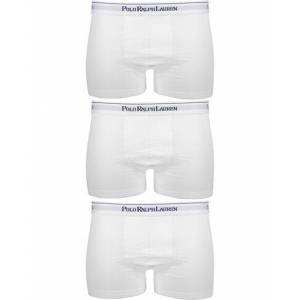 Polo Ralph Lauren 3-Pack Trunk White