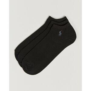 Polo Ralph Lauren 3-Pack Ghost Sock Black