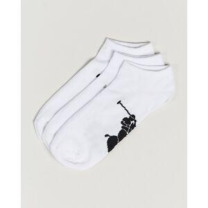 Polo Ralph Lauren 3-Pack Sneaker Socks White