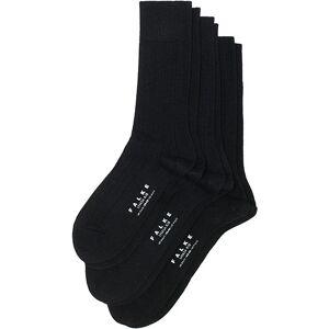 Falke 3-Pack Lhasa Cashmere Socks Black