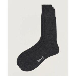 Pantherella 3-Pack Naish Merino/Nylon Sock Charcoal