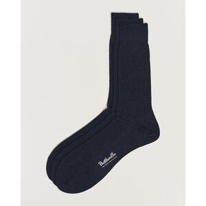 Pantherella 3-Pack Naish Merino/Nylon Sock Navy