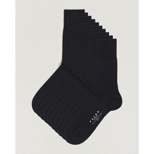 Falke 10-Pack Airport Socks Black