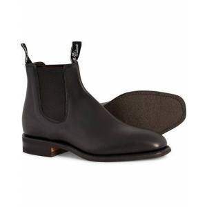 R.M.Williams Blaxland G Boot Yearling Black