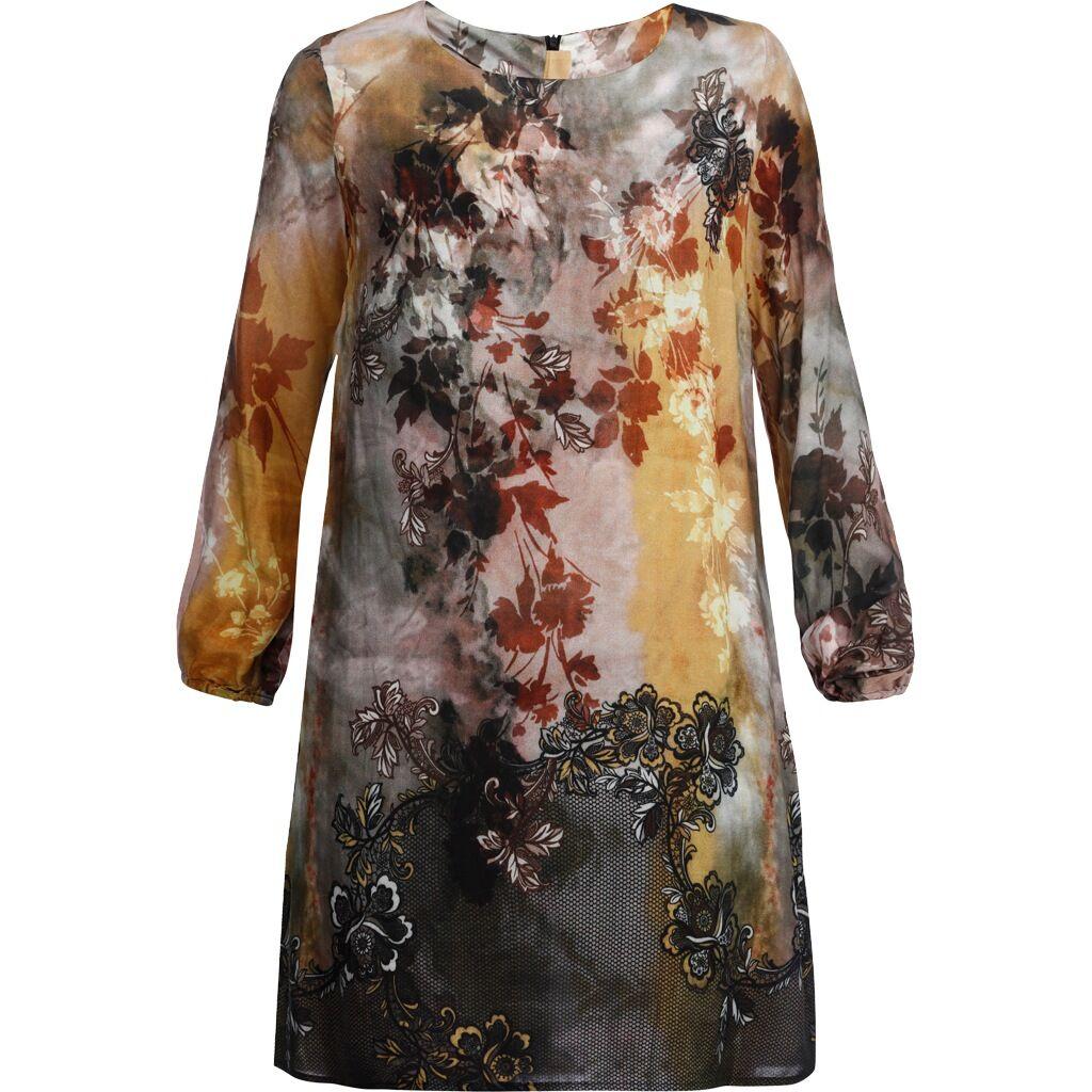 Mingel Tunika-klänning, multi (Stl: S, M, L, XL, XXL, )