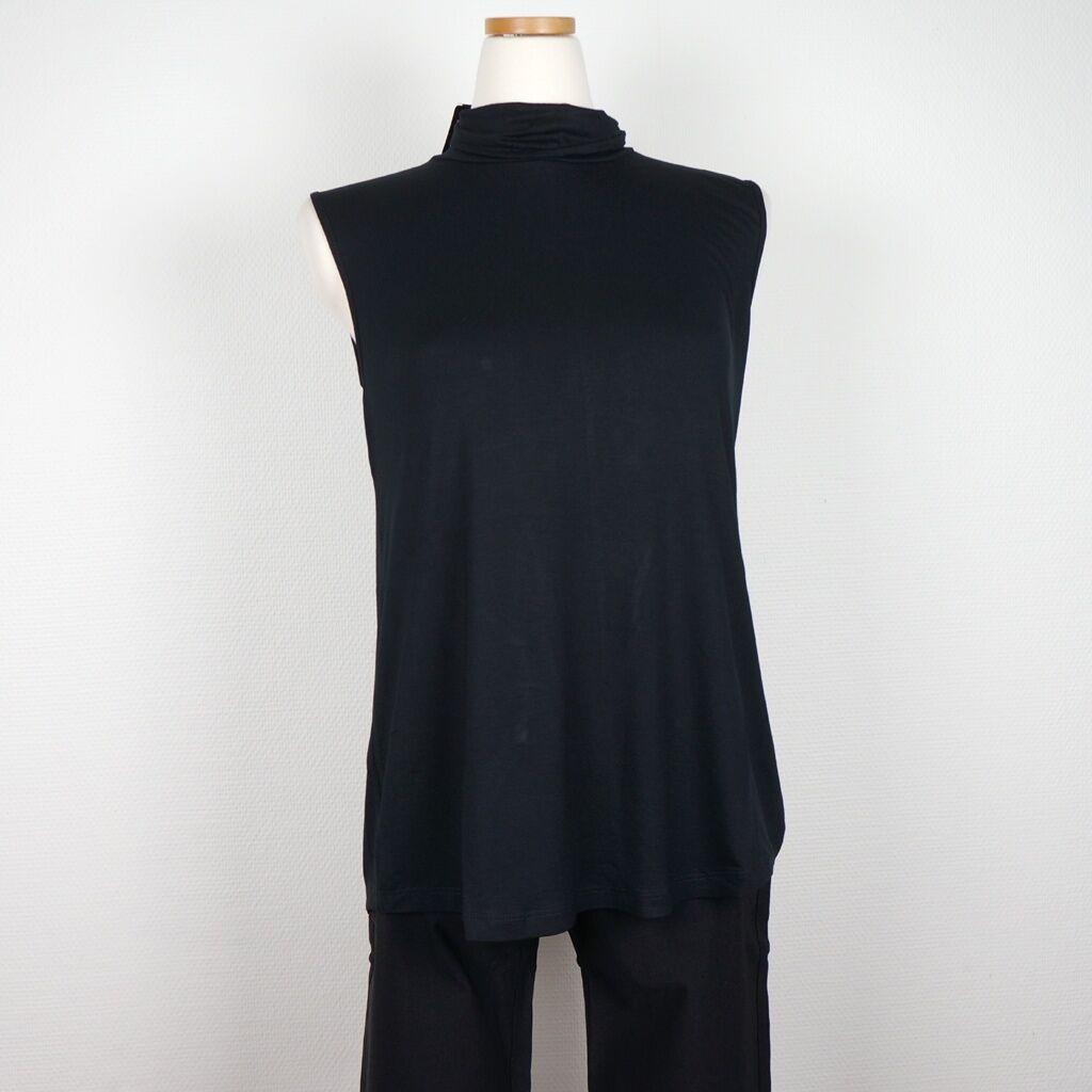Cotonel Polo-top, svart (Stl: M, L, XL, XXL, )