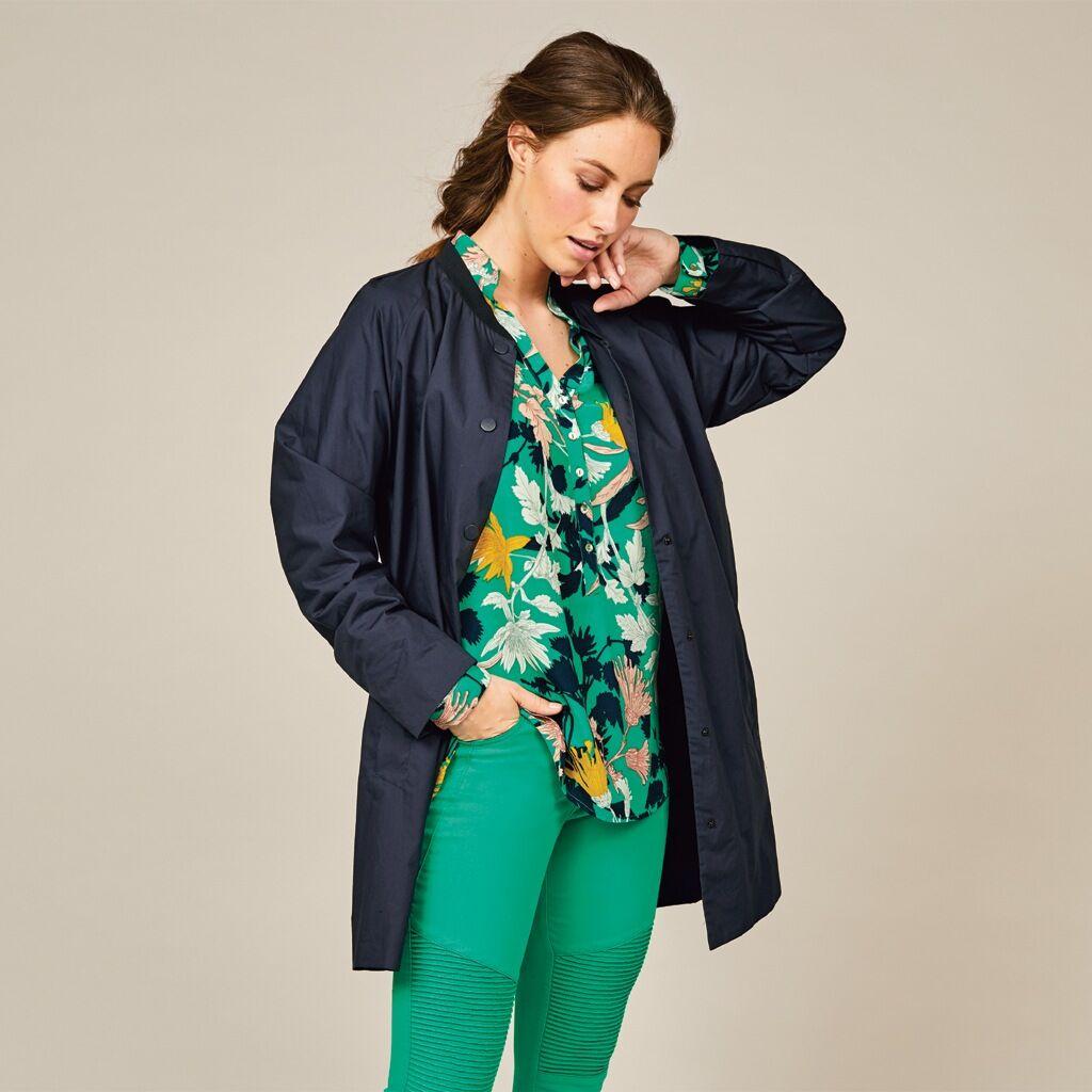 Jensen Skjorta intensivt modegrön (Stl: 36, 38, 40, 42, 44, 46, )