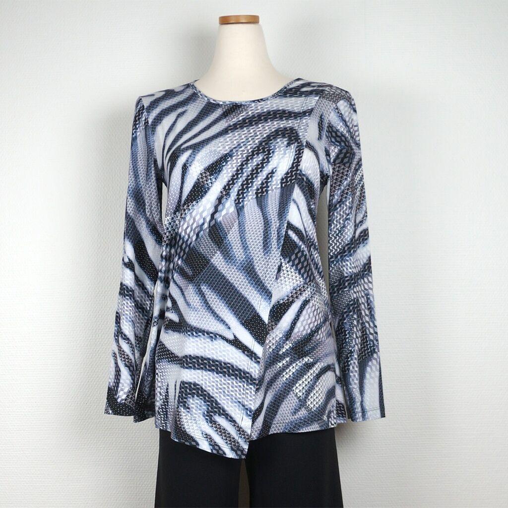 Cotonel Tunikatop, zebraprint (Stl: S, M, L, XL, )