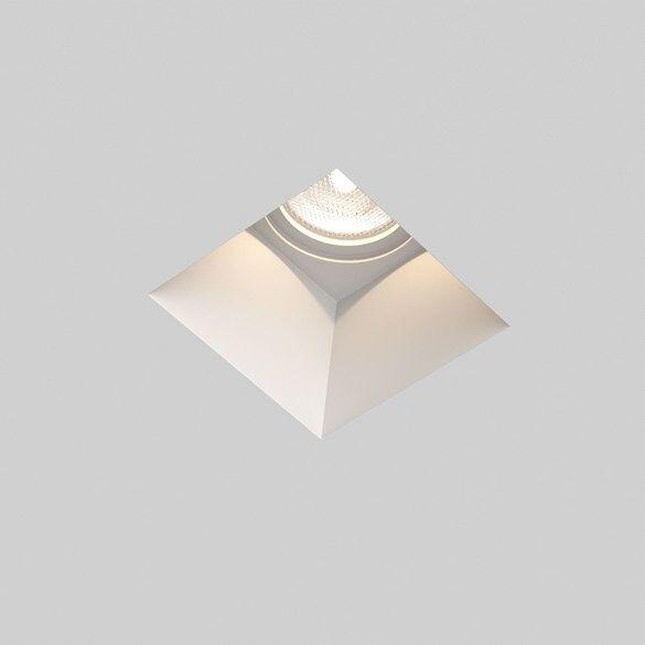 Blanco Astro 5655 Blanco Square Fixed GU10 Indbygningsspot