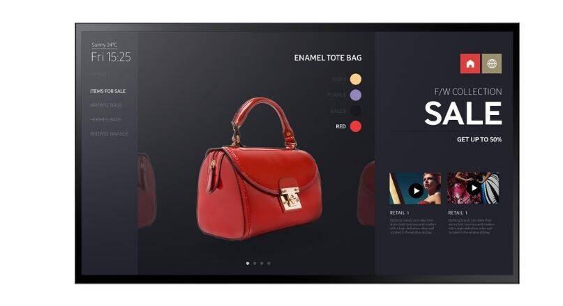 Samsung Smart Signage Display PM55F-BC