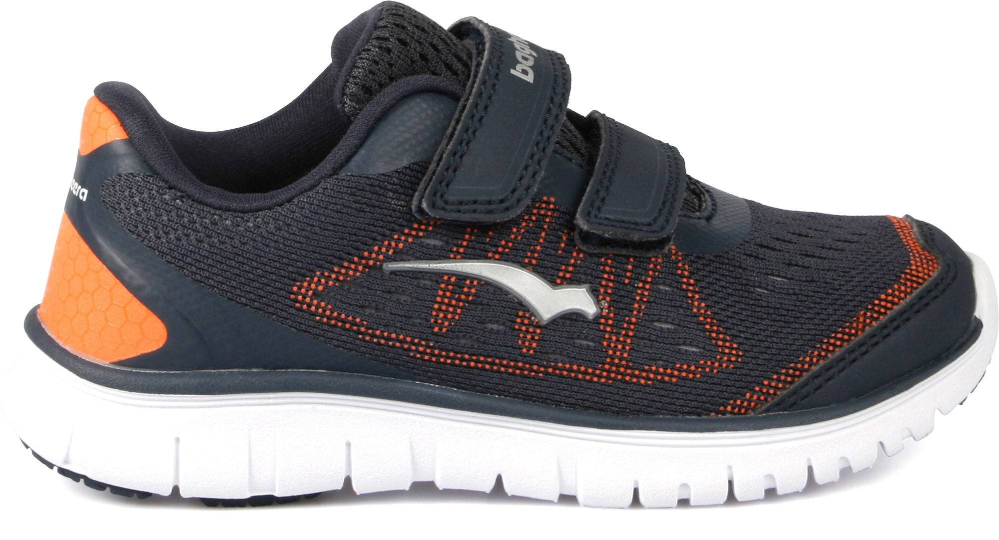 Bagheera Player Sneaker, Navy/Orange 25