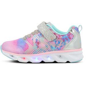 Leaf Noret Blinkande Sneaker, Silver/Pink, 31
