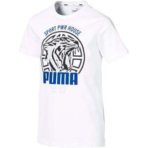 Puma Alpha Graphic T-Shirt, White 116