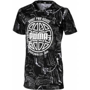 Puma Alpha Aop T-Shirt, Black 92