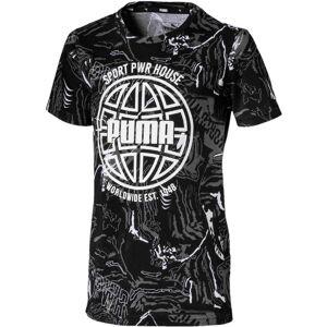 Puma Alpha Aop T-Shirt, Black 140