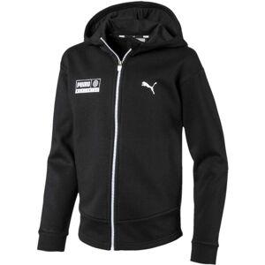 Puma Alpha Graphic Sweat Jacka, Black 164