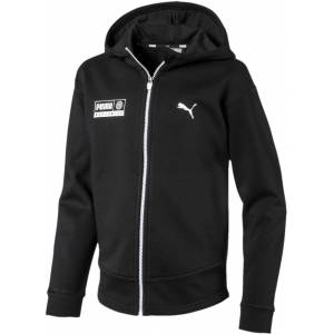 Puma Alpha Graphic Sweat Jacka, Black 140