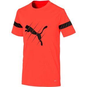 Puma Play Logo T-Shirt, Red 140