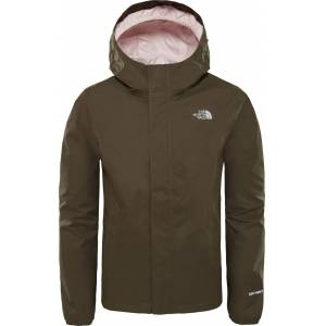 The North Face Resolve Reflective Jacka Barn, New Taupe Green XS