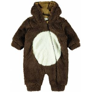Name it Mudolph Teddy Overall, Bronze Brown 50-56