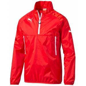Puma Team Windbreaker Vindjacka, Röd 140