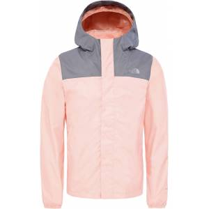 The North Face Resolve Reflective Jacka Barn, Pink Salt XL