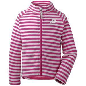 Didriksons Monte Fleecejacka, Plastic Pink Simple Stripe 80