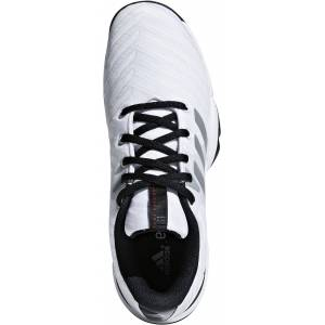 Adidas Barricade 2018 JR Tennisskor, White 36 2/3