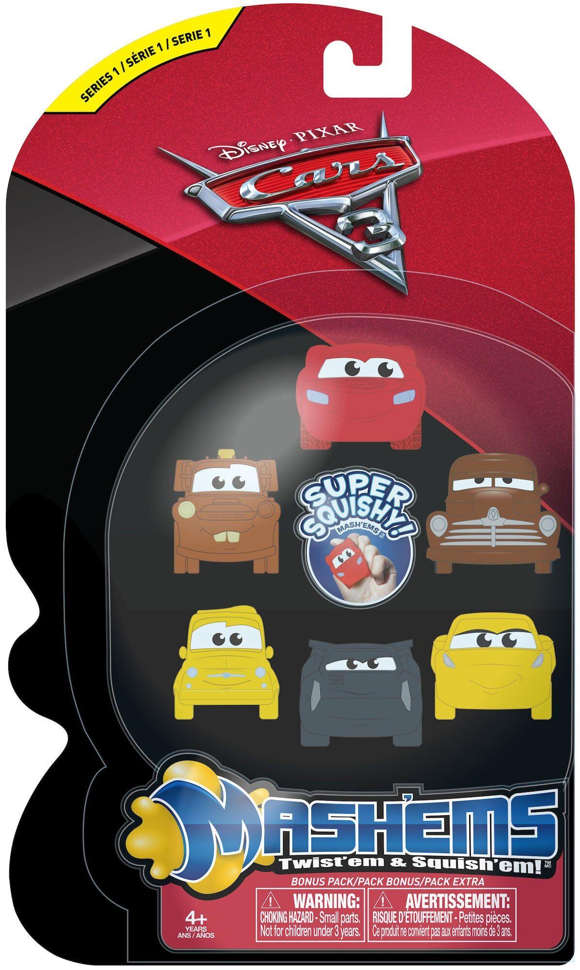 Disney Cars 3 Mash'ems Små Figurer