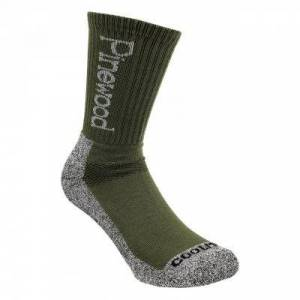 Pinewood Strumpa Coolmax® (2-Pack) 9212 (Storlek: 37-39, Färg: Grön)