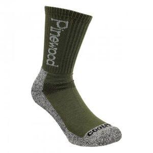 Pinewood Strumpa Coolmax® (2-Pack) 9212 (Storlek: 40-42, Färg: Grön)