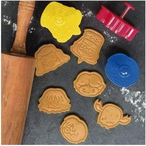 Loppisfyndet Molds and Concret Färg:Gul) Harry potter (kakformer