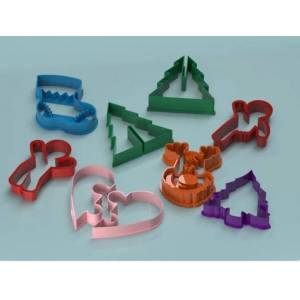 """MakeIT Puzzle Build"""" Christmas Cookie cutters"""