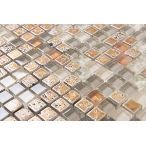 Unbranded Mosaik d-sign kristall brons 30x30