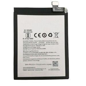 No name Oneplus 3t, Original Batteri, 3300mah, Blp633