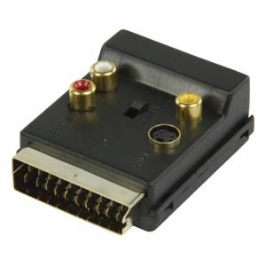 undefined Valueline Scart adapter 3X RCA omkopplingsbar