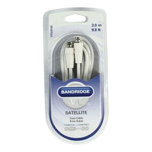 Bandridge Antennkabel TV 3.00M Vit
