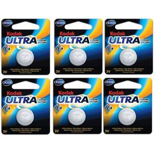 6st CR2032 Batterier Lithium