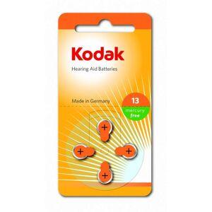 40st Batterier till hörapparat 13, A13, Orange