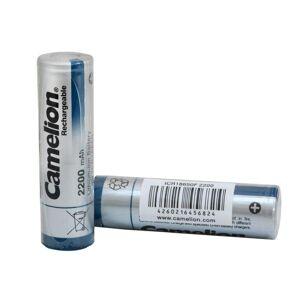 Camelion 4-pack batteri, batterier Li-Ion 18650 Camelion 2600mAh