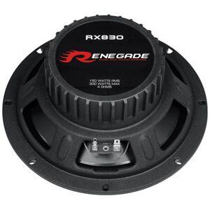 """Renegade RX830,  8""""  Bilhögtalare"""