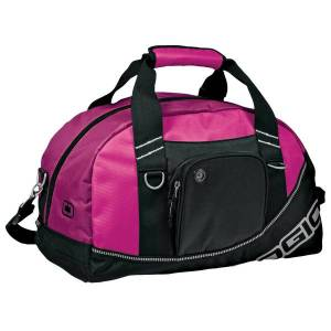 Ogio half dome sports/gym duffle bag (29.5 litres) (pack of 2) h
